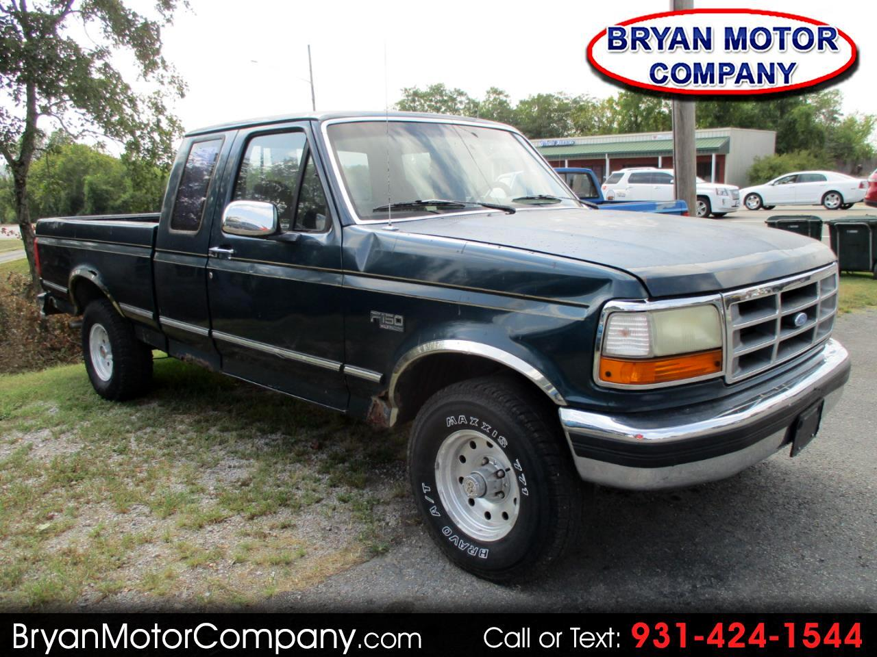 """1994 Ford F-150 Supercab 139"""" WB 4WD"""