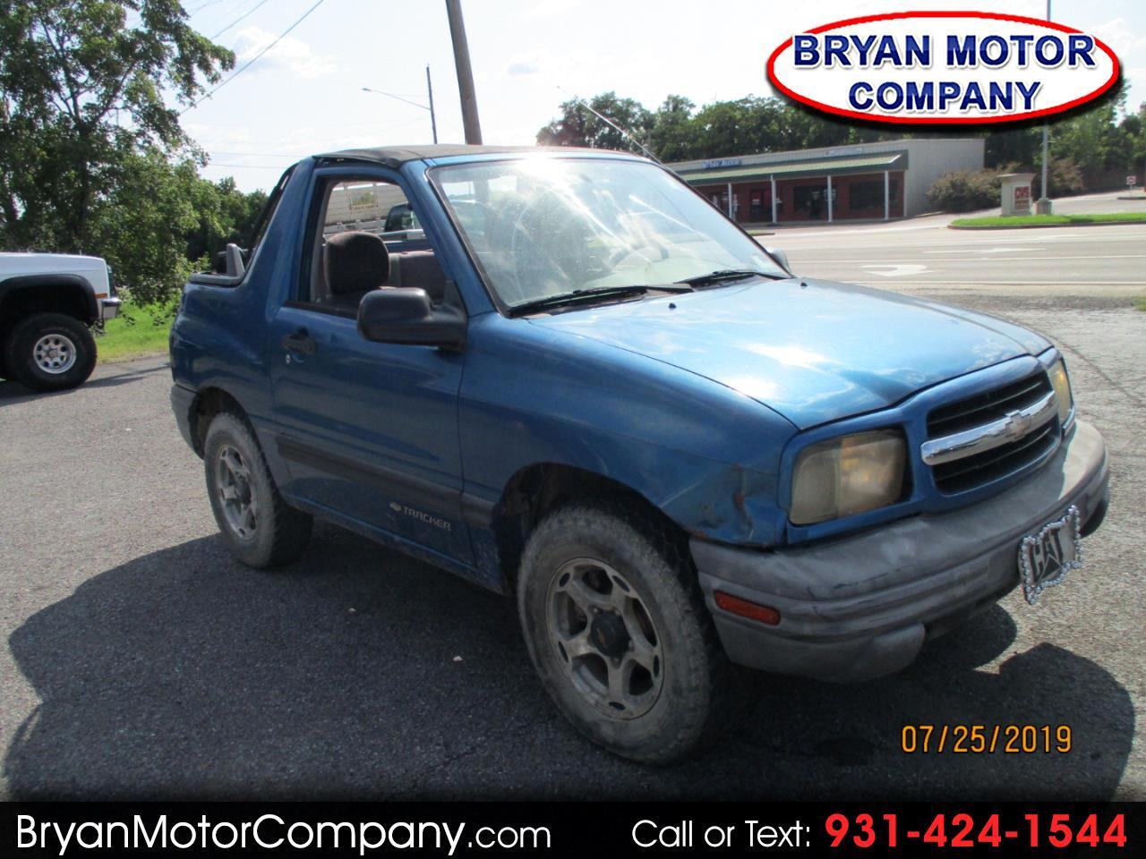 Chevrolet Tracker 2dr Convertible 4WD Base 2001