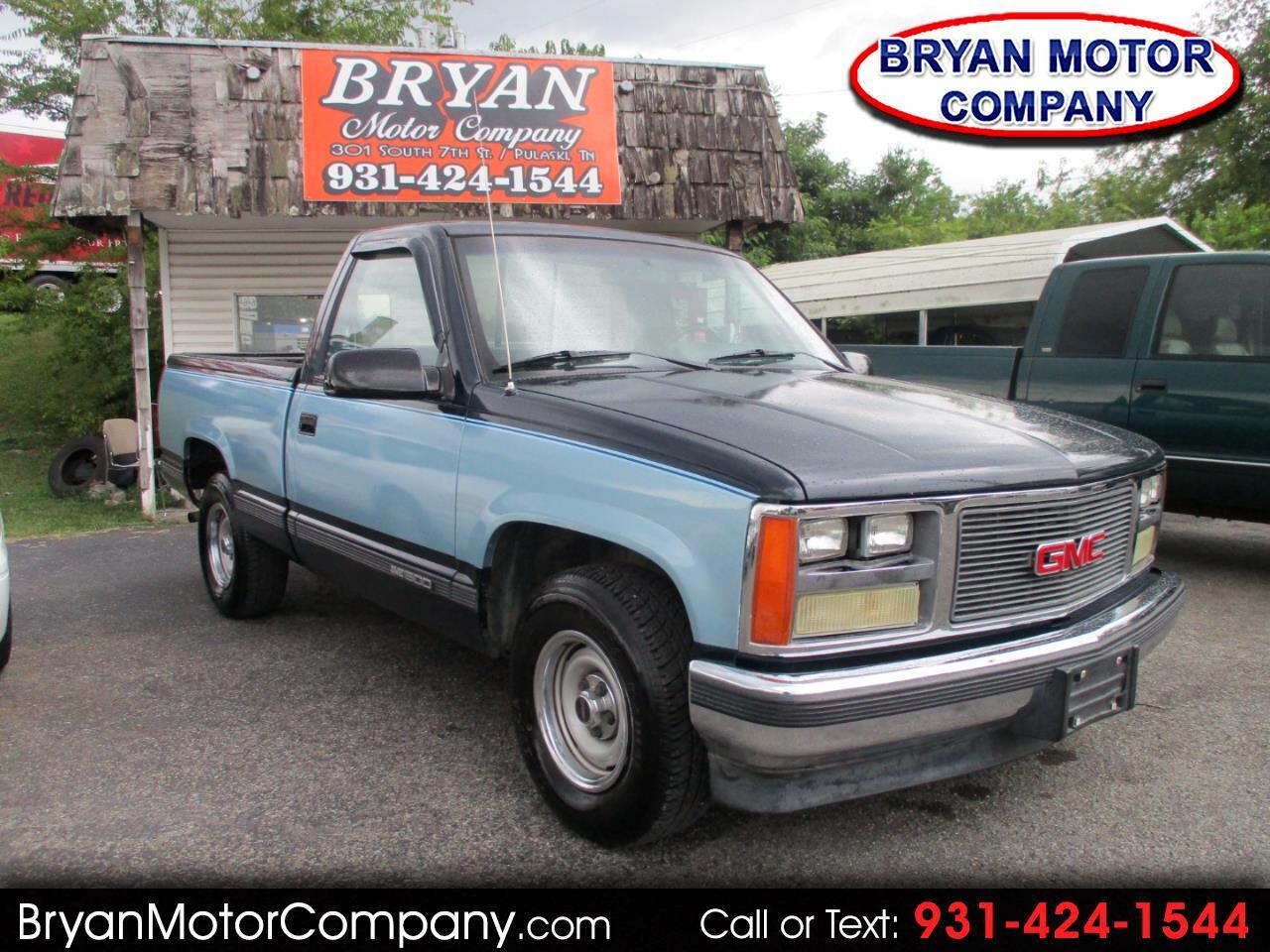 """1989 GMC 1/2 Ton Pickups Fleetside 117.5"""""""