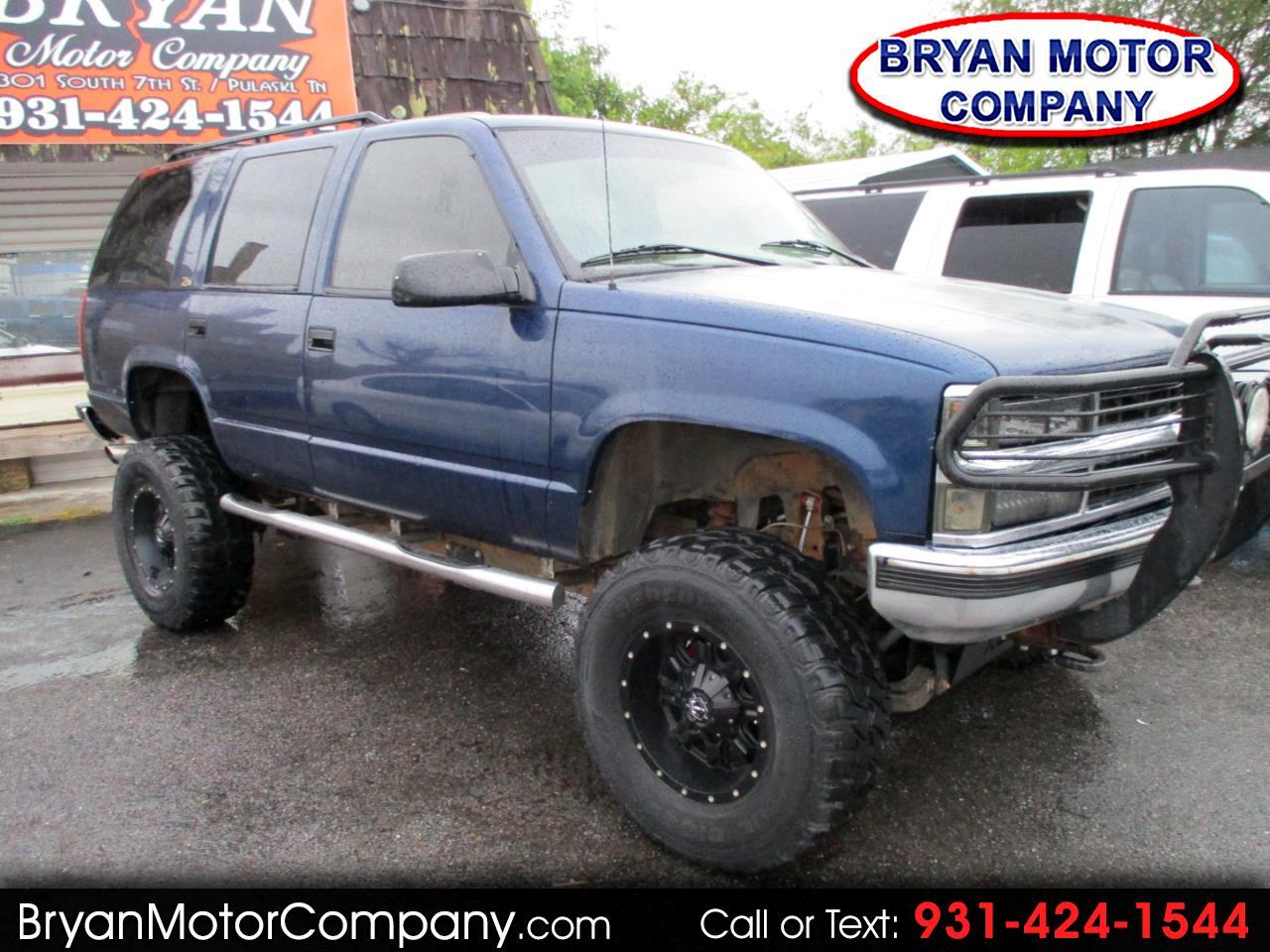 1996 Chevrolet Tahoe 1500 4dr 4WD