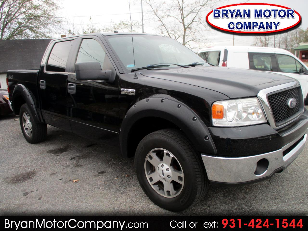 "Ford F-150 4WD SuperCrew 139"" XLT 2006"