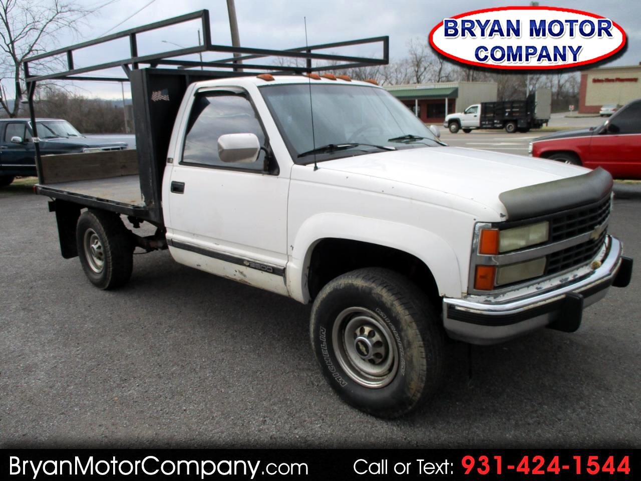 "Chevrolet C/K 2500 HD Reg Cab 131.5"" WB 4WD C6P 1993"