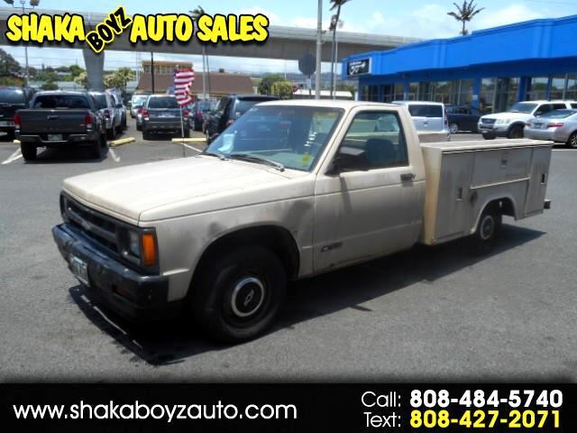 1993 Chevrolet S10 Pickup EL Reg. Cab Short Bed 2WD