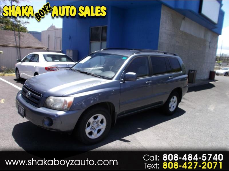 2004 Toyota Highlander 2WD with 3rd-Row Seat