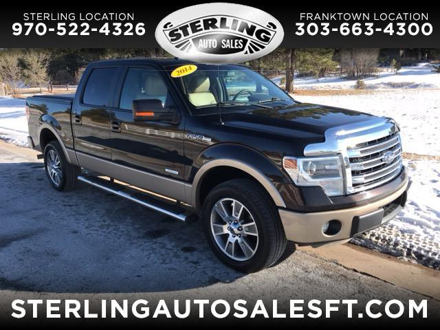2014 Ford F-150 Lariat 4WD SuperCrew 5.5' Box