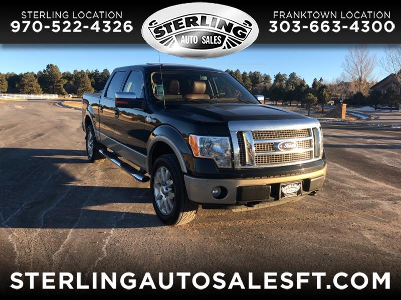2010 Ford F-150 King-Ranch SuperCrew 5.5-ft. 4WD