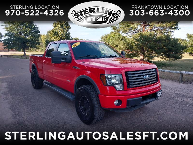 Ford F-150 FX4 SuperCrew 6.5-ft Box 4WD 2012