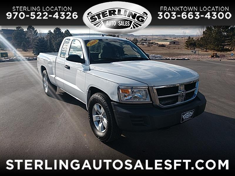 2008 Dodge Dakota SXT Ext. Cab 4WD