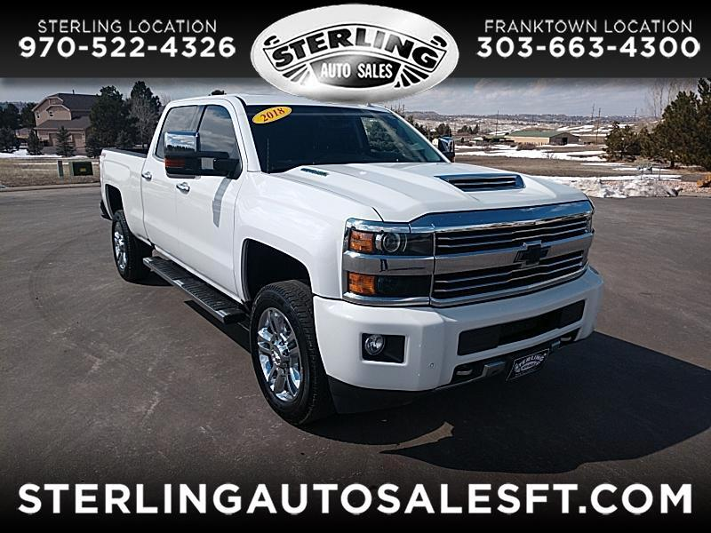 2017 Chevrolet Silverado 2500HD High Country Crew Cab Short Box 4WD