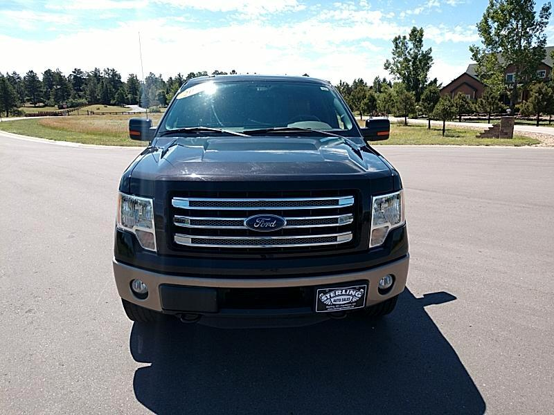 2013 Ford F-150 King-Ranch SuperCrew 5.5-ft. 4WD