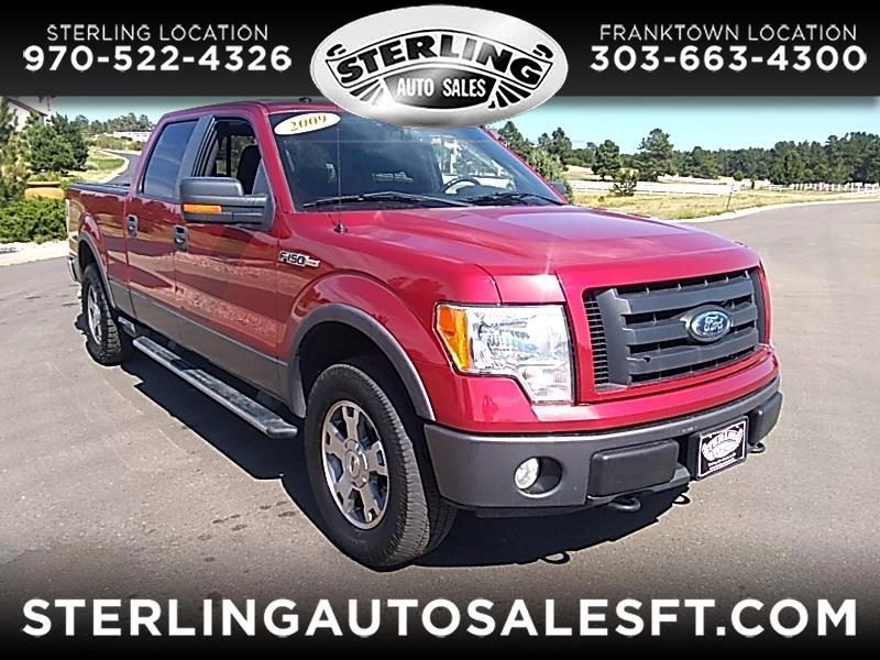 "Ford F-150 4WD SuperCrew 139"" FX4 2009"