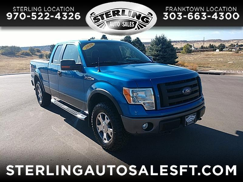 "Ford F-150 4WD SuperCab 133"" FX4 2010"