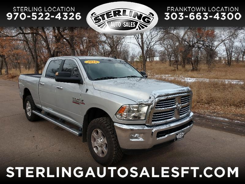 "RAM 2500 Big Horn 4x4 Crew Cab 6'4"" Box 2016"