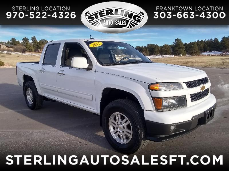 "Chevrolet Colorado 4WD Crew Cab 128.3"" LT 2012"
