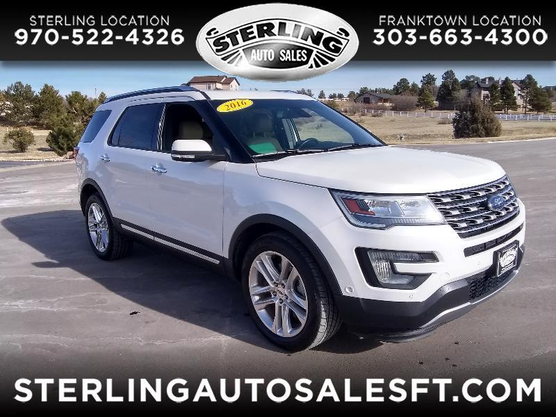 "Ford Explorer 4dr 114"" WB Limited 4WD 2016"