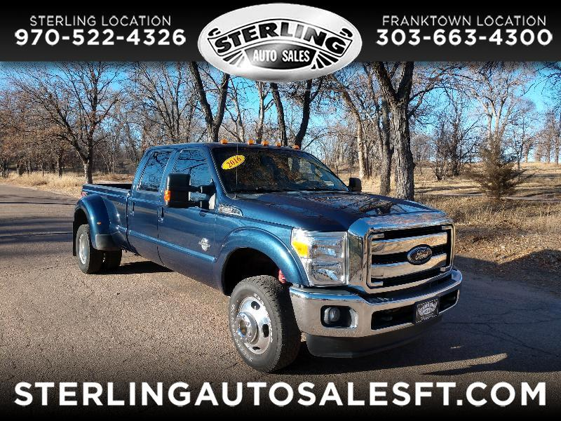 Ford Super Duty F-350 DRW Lariat 4WD Crew Cab 8' Box 2016