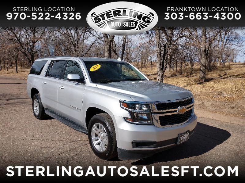 Chevrolet Suburban LT 4WD 2019