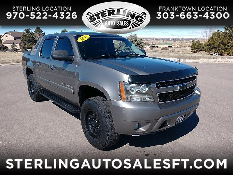 "Chevrolet Avalanche 4WD Crew Cab 130"" LT w/1LT 2007"