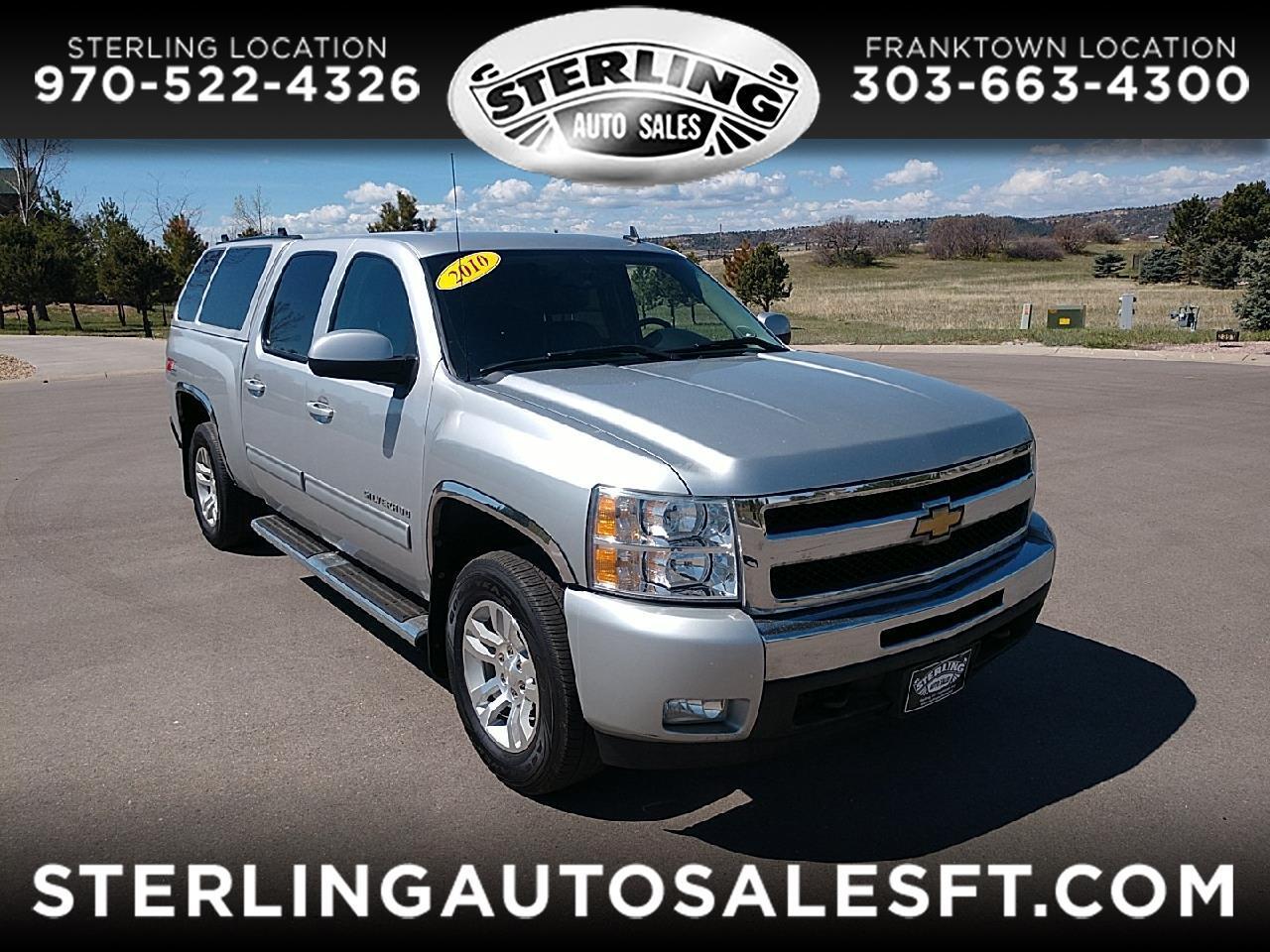 """Chevrolet Silverado 1500 4WD Crew Cab 143.5"""" LTZ 2010"""
