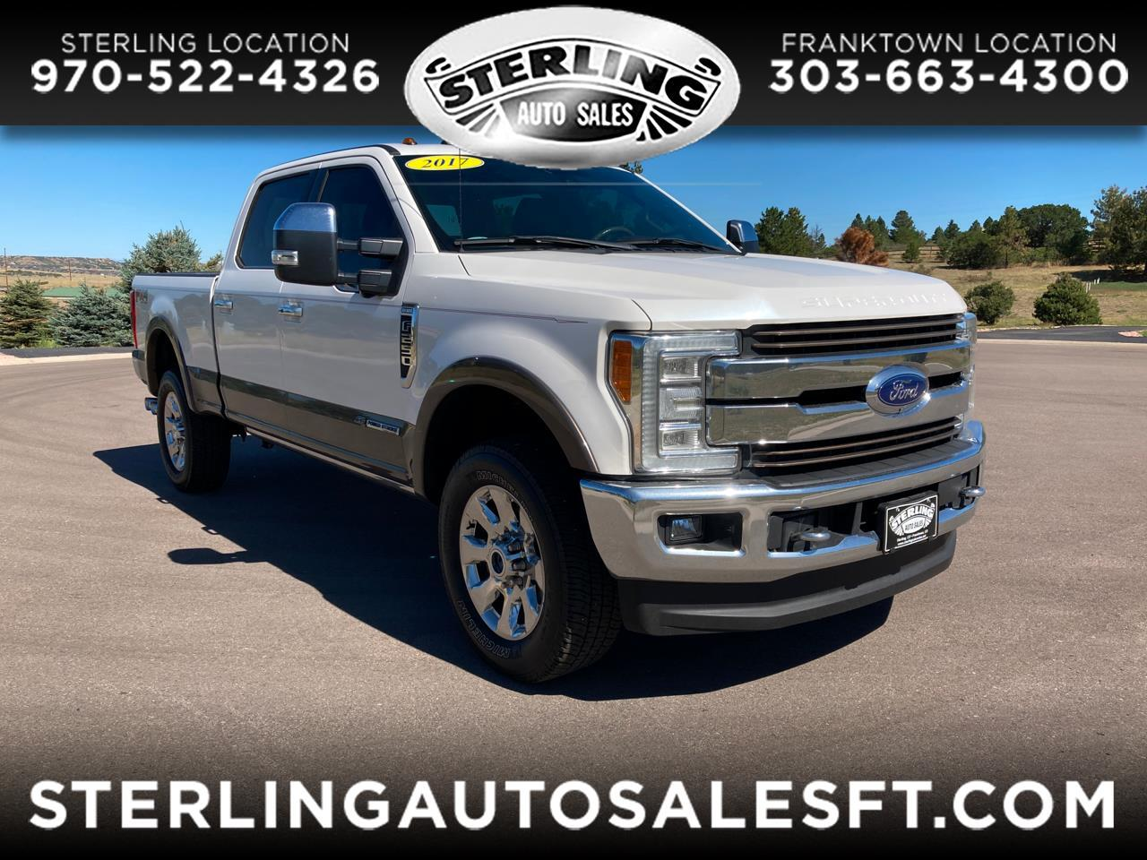 Ford Super Duty F-250 SRW King Ranch 4WD Crew Cab 6.75' Box 2017
