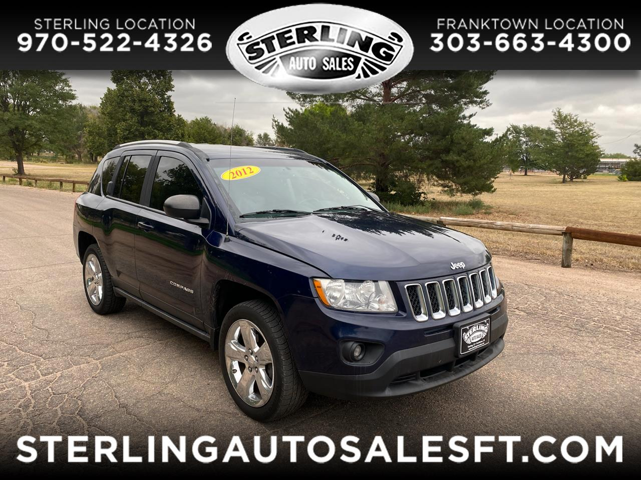 Jeep Compass 4WD 4dr Limited 2012