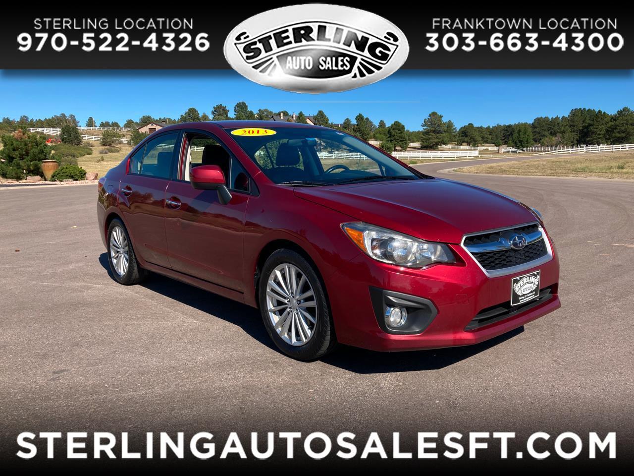 Subaru Impreza Sedan 4dr Auto 2.0i Limited 2013