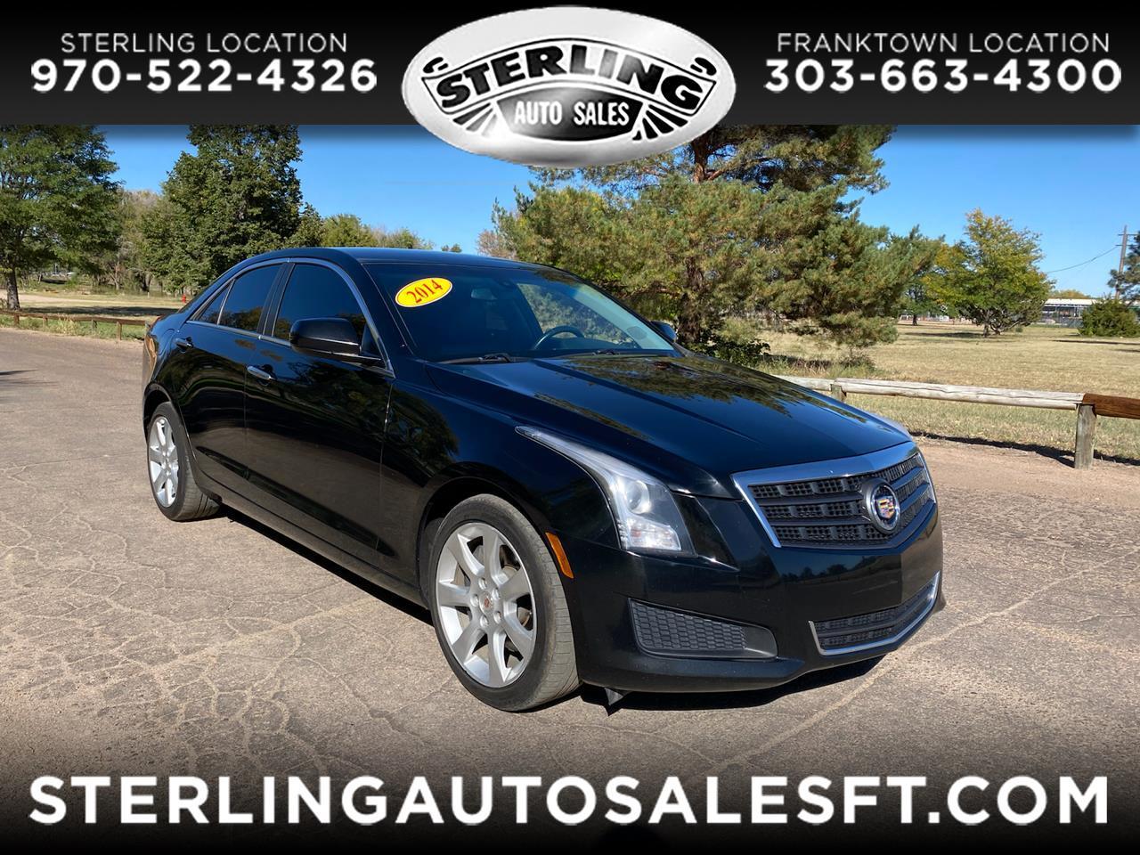 Cadillac ATS 4dr Sdn 2.0L Standard AWD 2014