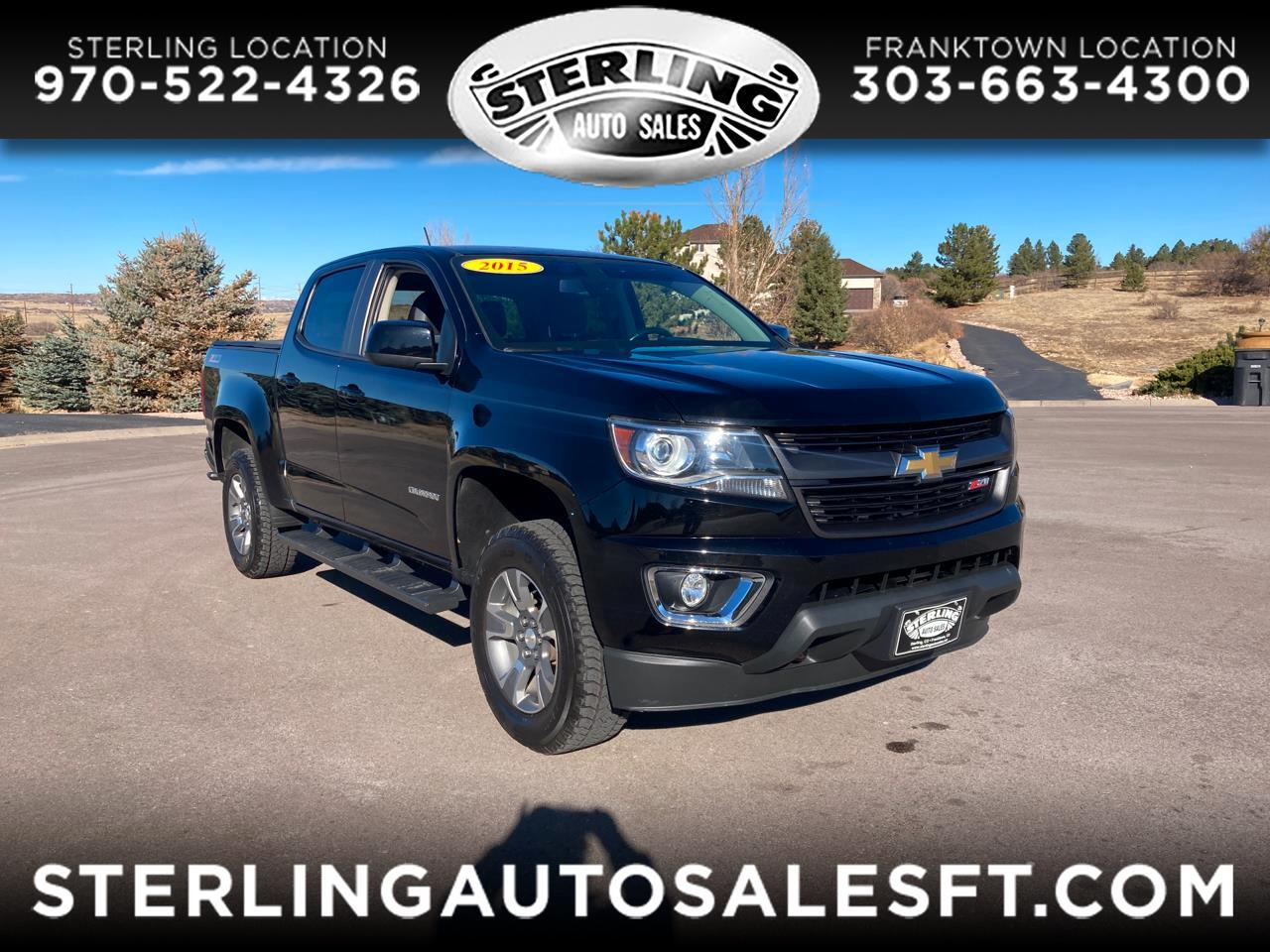 Chevrolet Colorado Z71 4WD 2015