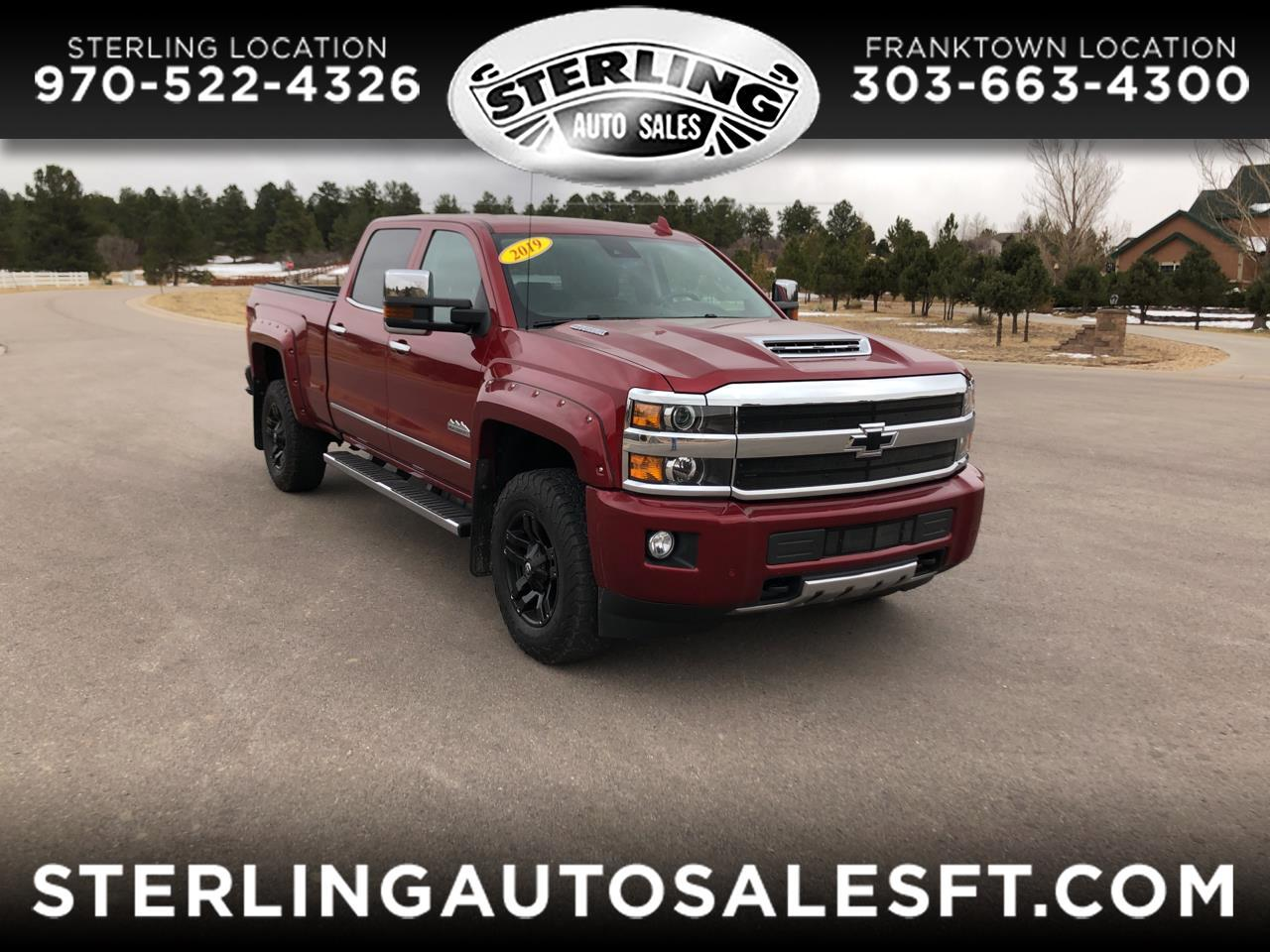 "Chevrolet Silverado 2500HD 4WD Crew Cab 153.7"" High Country 2019"