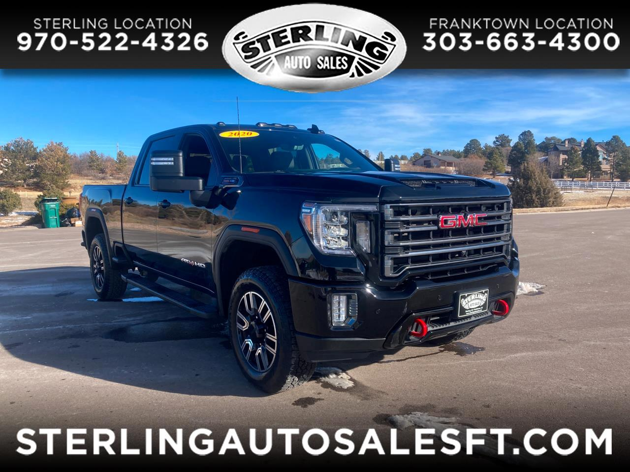 "GMC Sierra 2500HD 4WD Crew Cab 159"" AT4 2020"