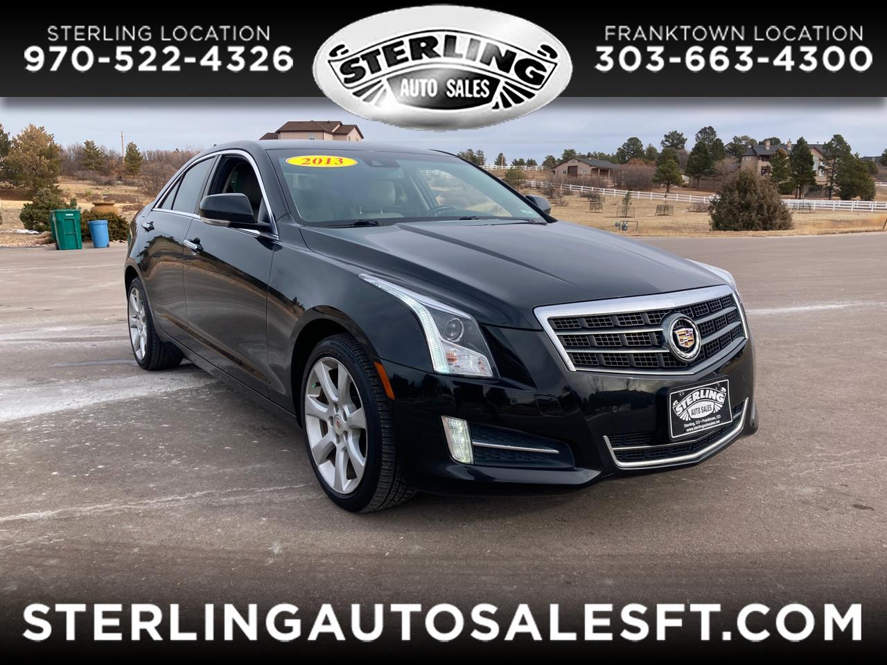 Cadillac ATS 4dr Sdn 2.0L Performance AWD 2013