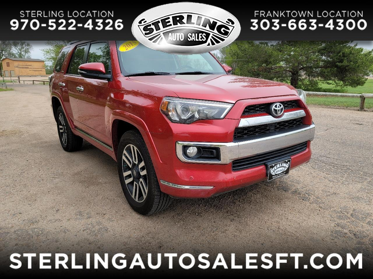 Toyota 4Runner 4dr Limited V6 Auto 4WD (Natl) 2015