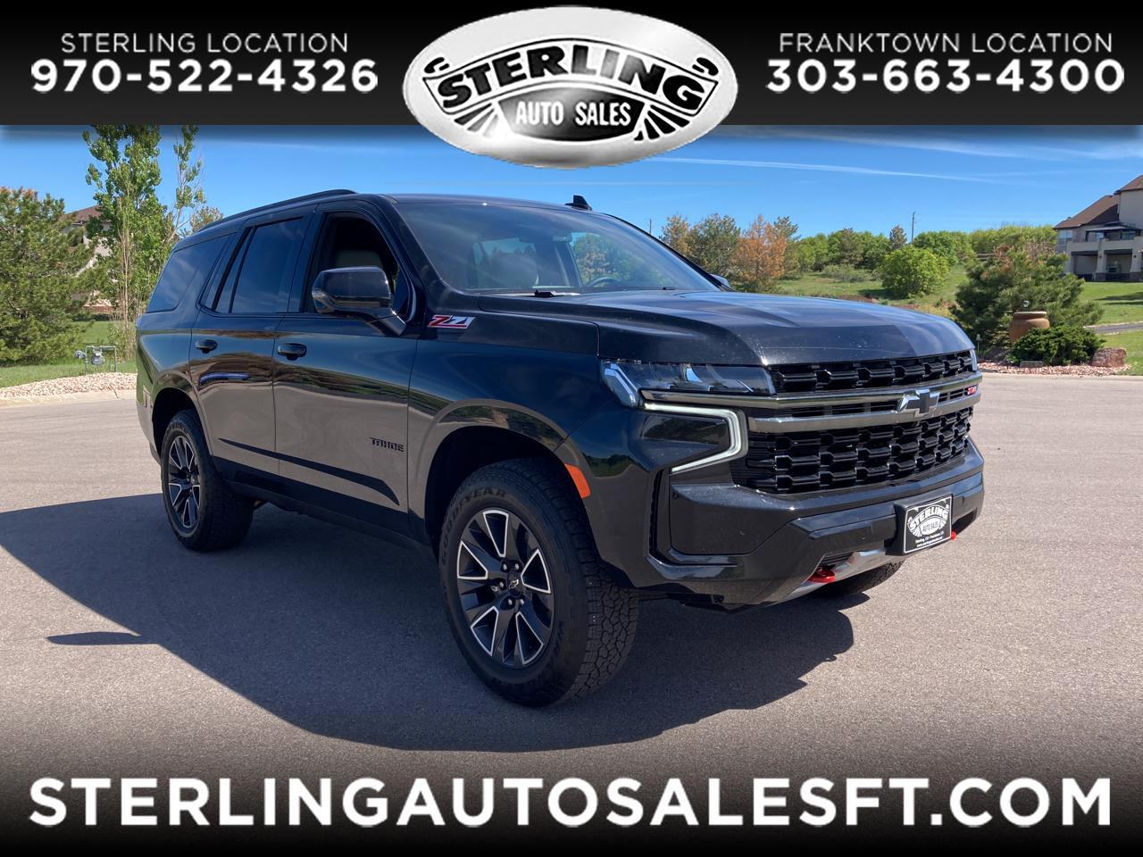 Chevrolet Tahoe 4WD 4dr Z71 2021