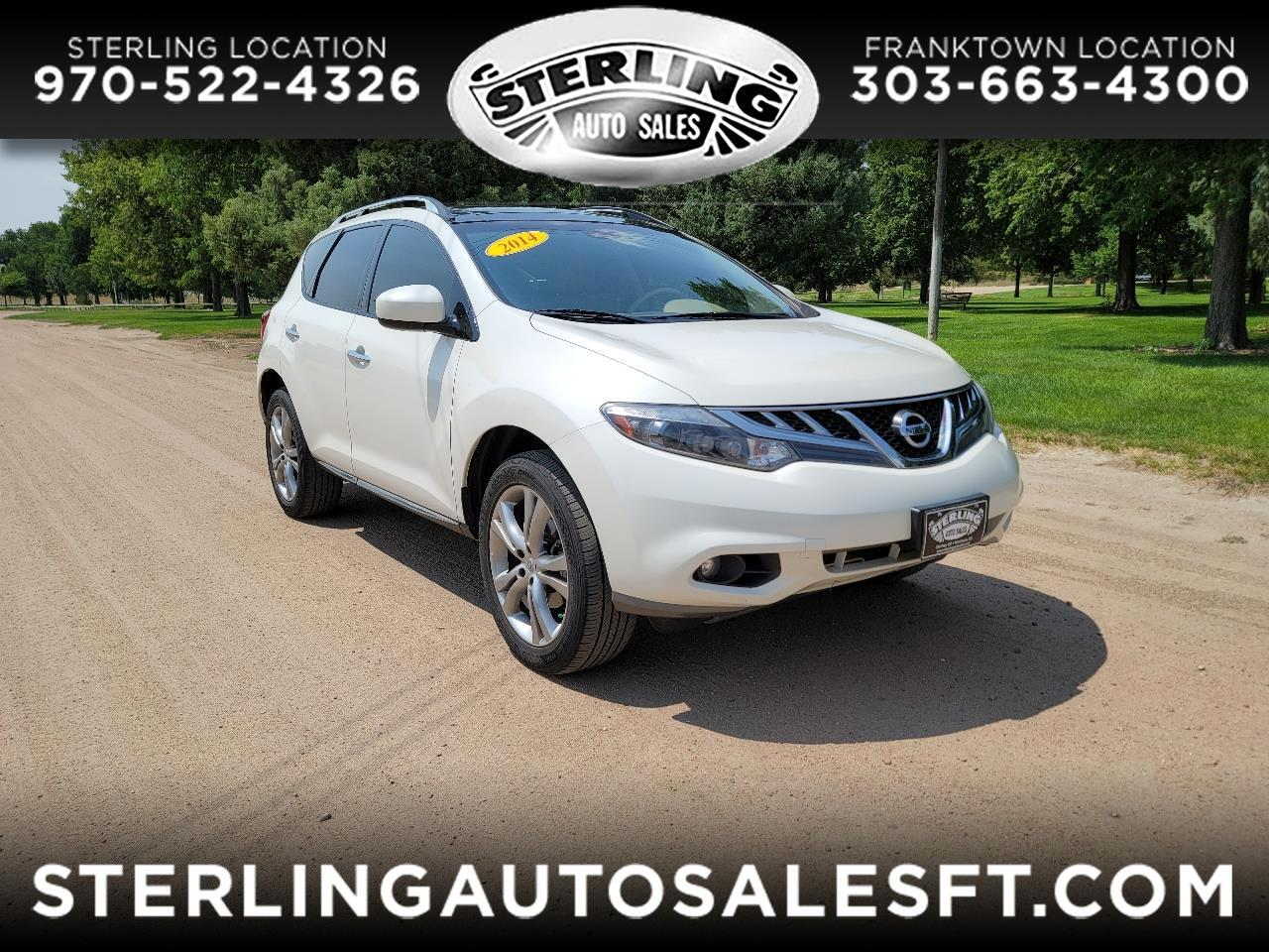 Nissan Murano AWD 4dr LE 2014