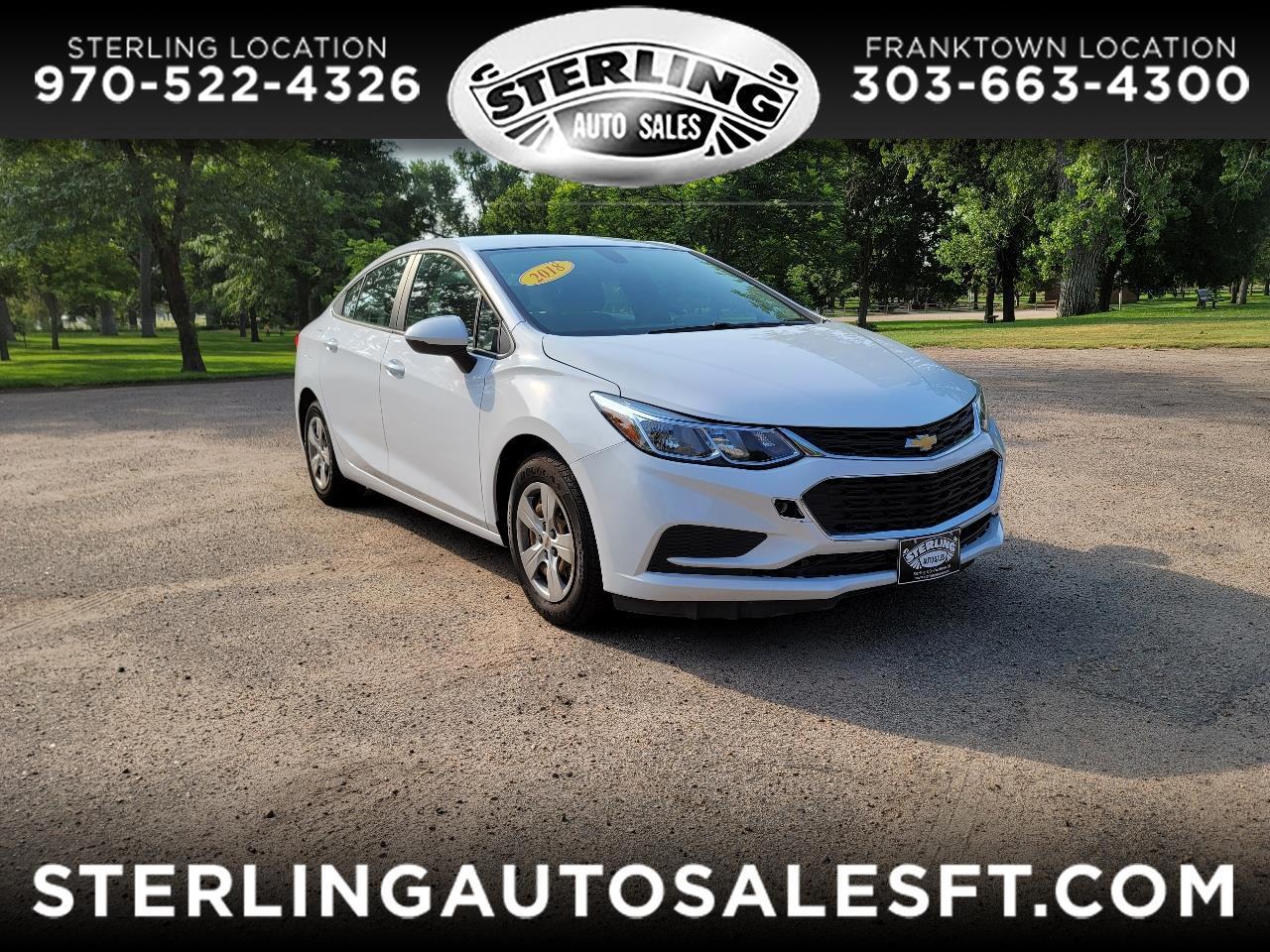 Chevrolet Cruze 4dr Sdn 1.4L LS w/1SB 2018