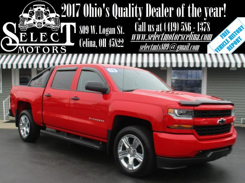 2016 Chevrolet Silverado 1500 Custom Crew Cab Long Box 4WD
