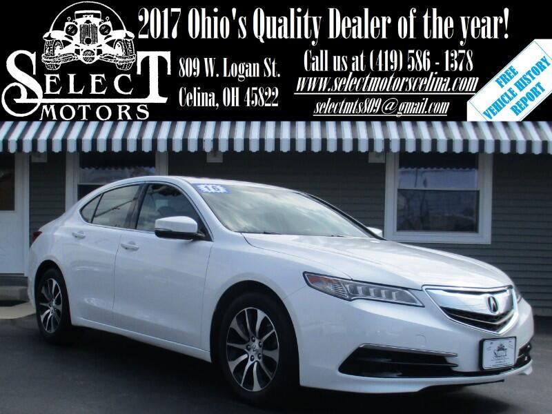 2016 Acura TLX 8-Spd DCT