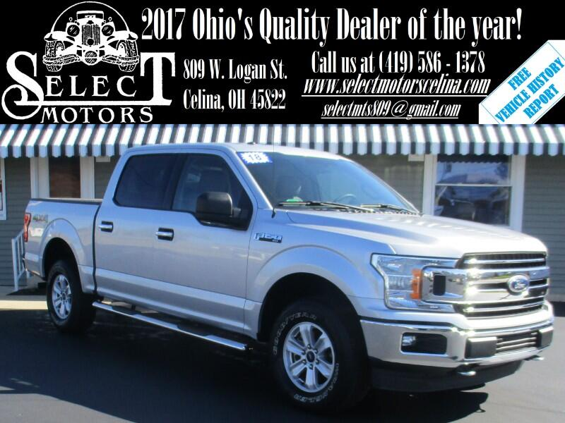 2018 Ford F-150 XLT SuperCrew 5.5-ft. Bed 4x4