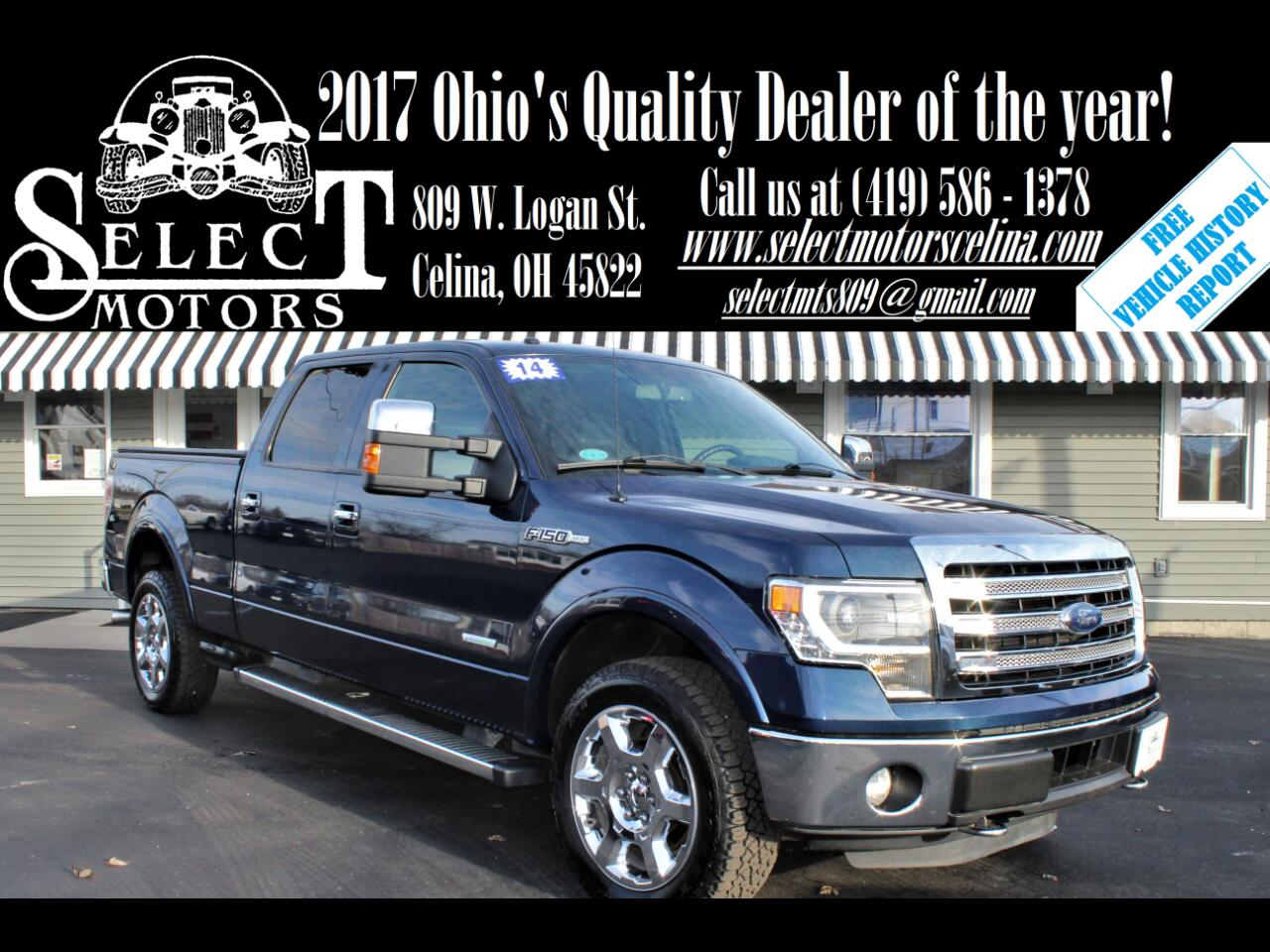 Ford F-150 Lariat SuperCrew 6.5-ft. Bed 4WD 2014