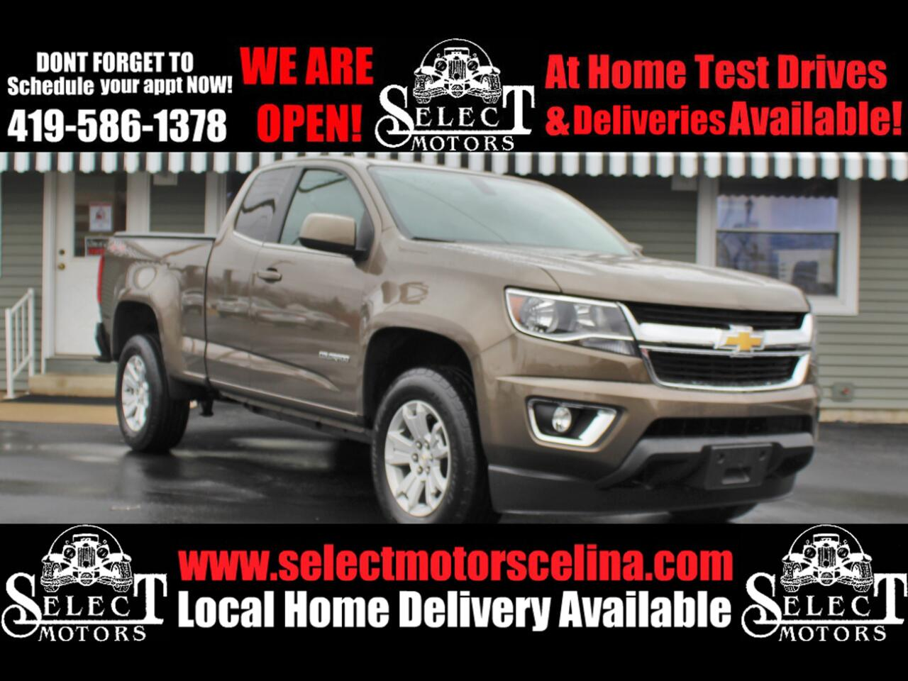 "Chevrolet Colorado 4WD Ext Cab 128.3"" LT 2016"