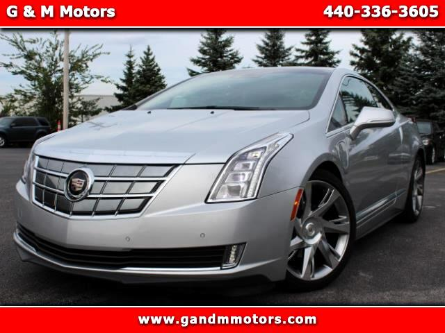 2014 Cadillac ELR Luxury with Adaptive Cruise Control