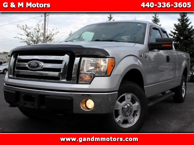 2010 Ford F-150 Supercab 133