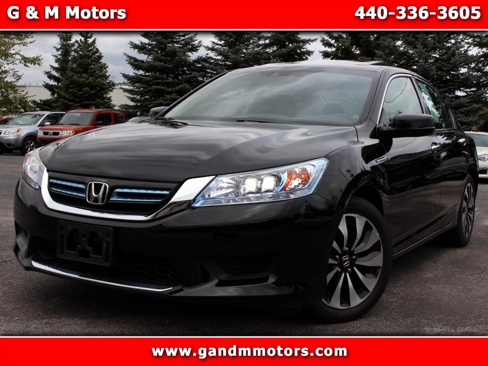 2015 Honda Accord Hybrid 4dr Sdn Touring