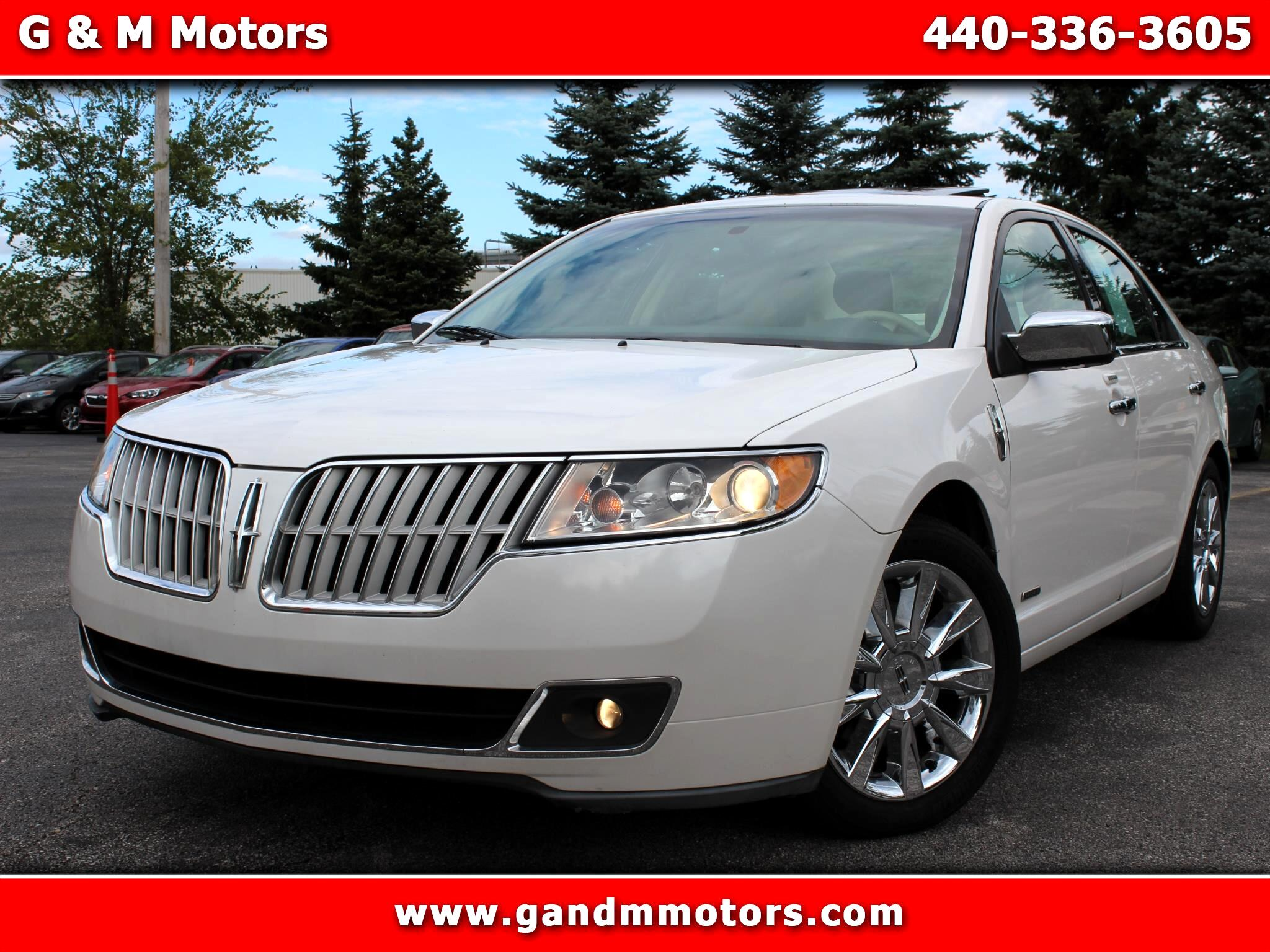 Lincoln MKZ 4dr Sdn Hybrid FWD 2011