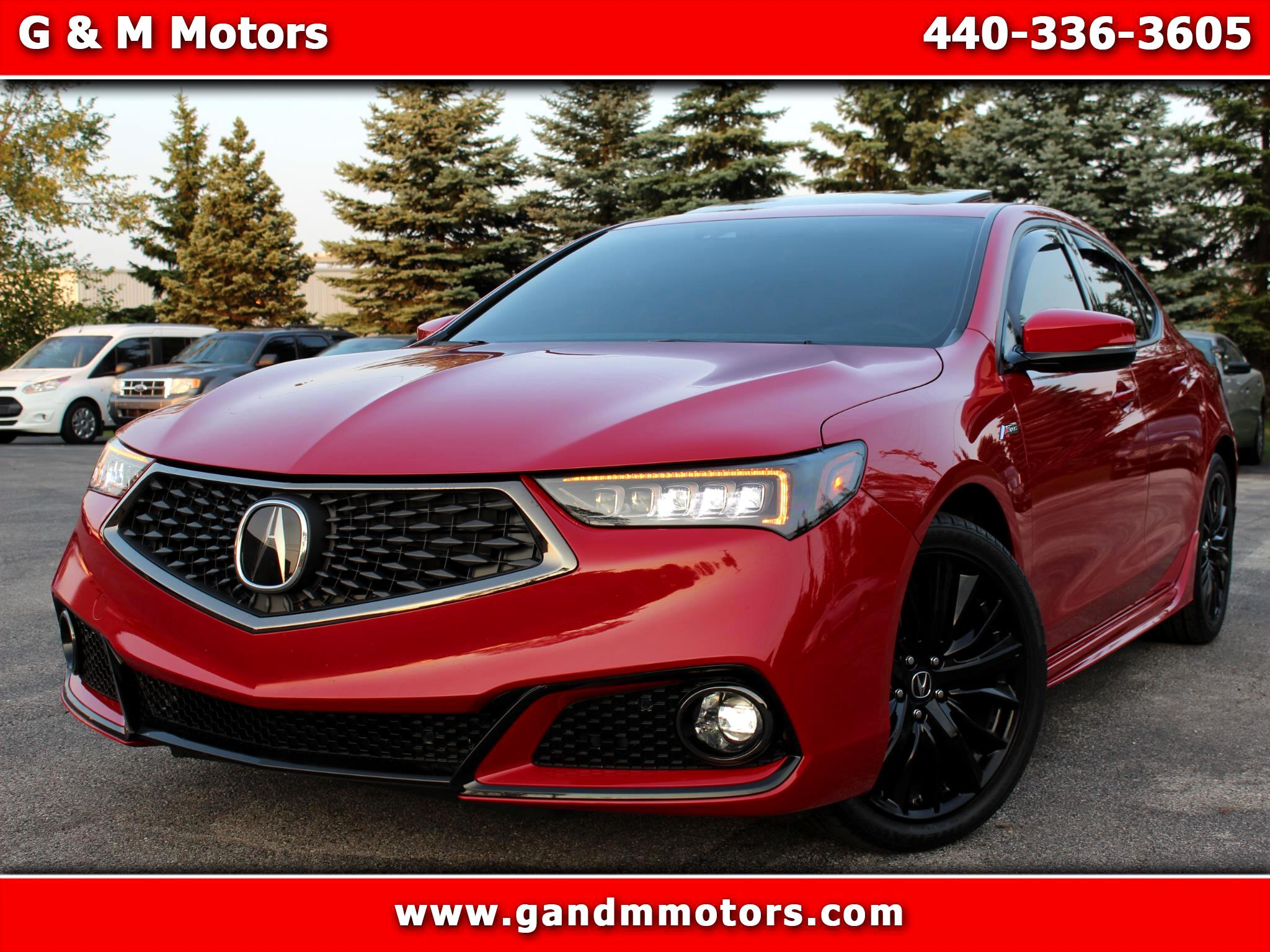 Acura TLX 3.5L FWD w/A-SPEC Pkg 2019
