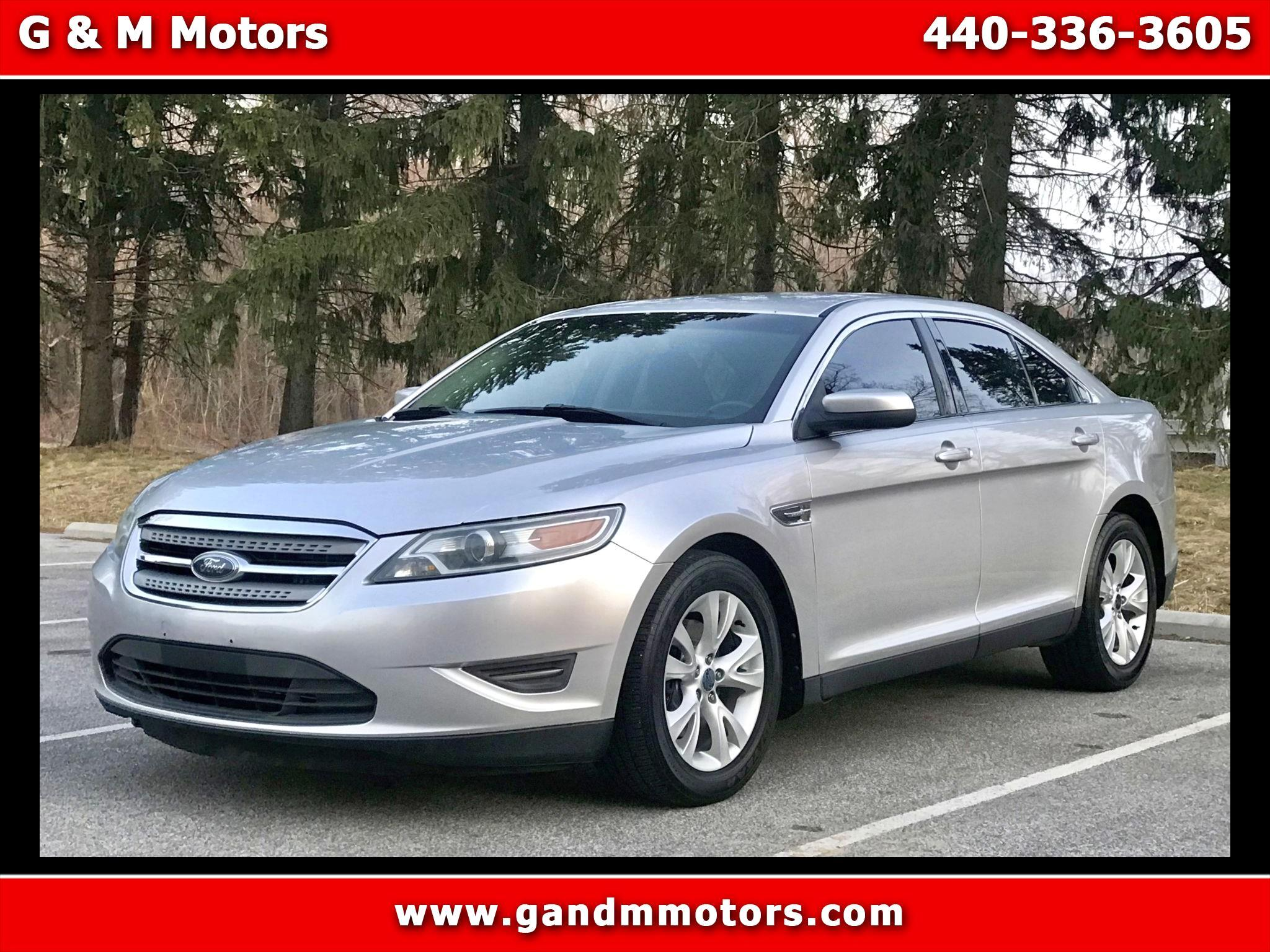 Ford Taurus 4dr Sdn SEL AWD 2010