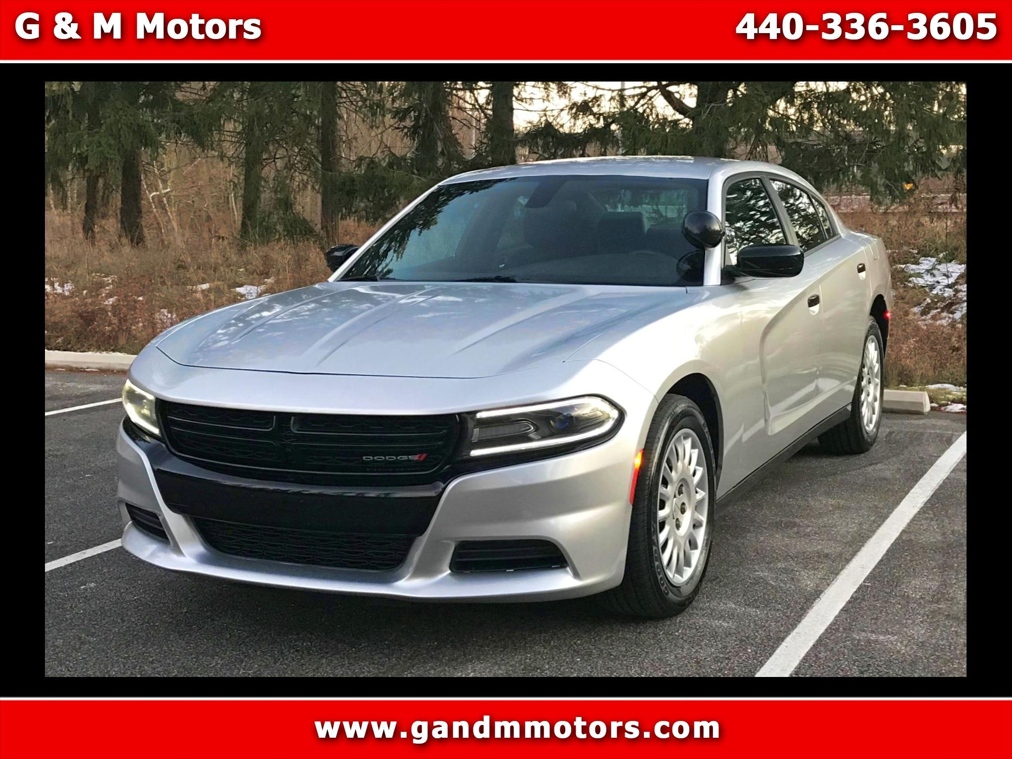 Dodge Charger Police AWD 2017