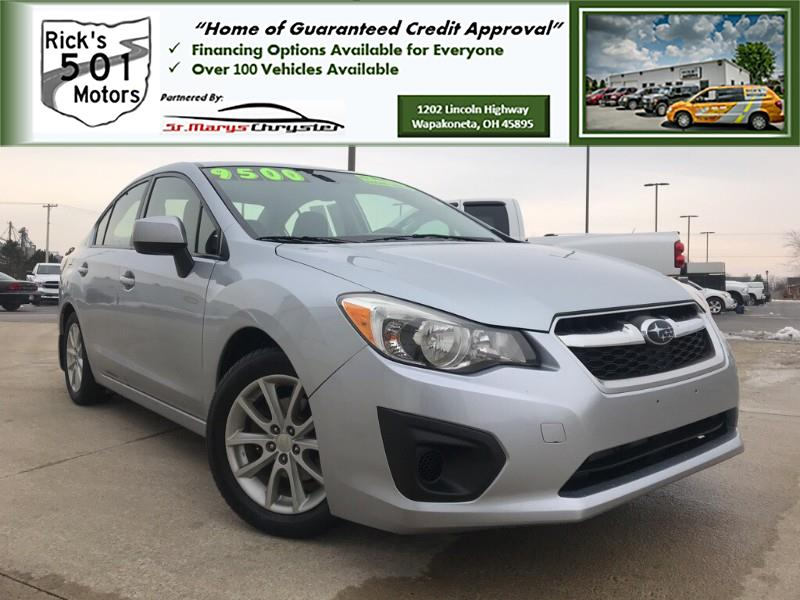 2013 Subaru Impreza 2.0i Premium 4-Door w/All Weather Package