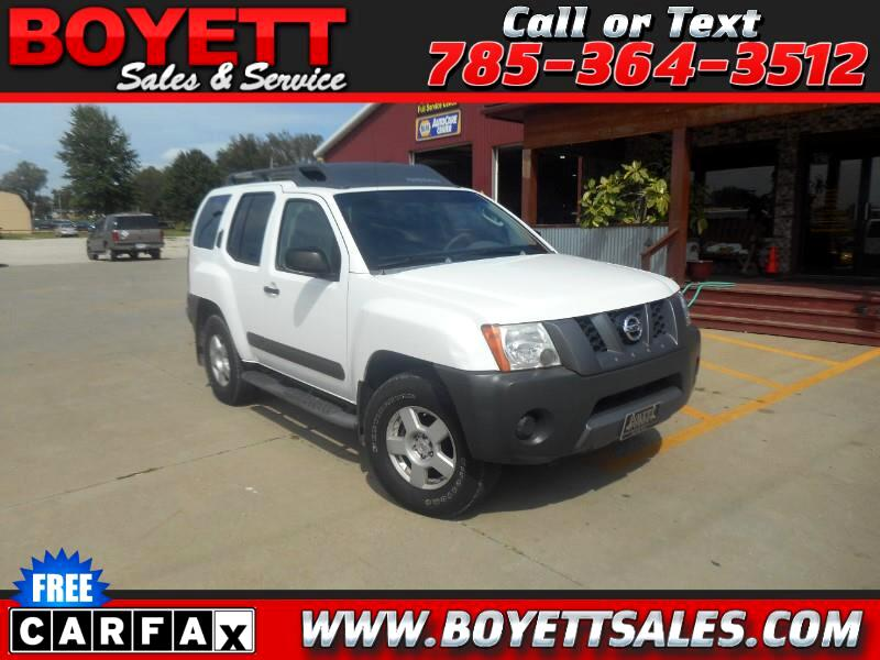 Nissan Xterra OR 4WD 2005