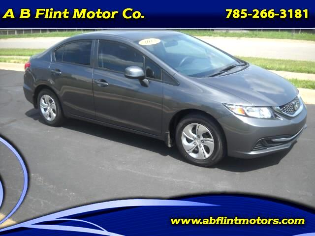 2013 Honda Civic LX Sedan 5-Speed AT